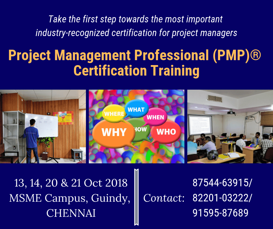 Pmp Certification Training In Chennai Pm Drill
